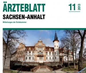 Titelblatt des Ärzteblattes Sachsen-Anhalt